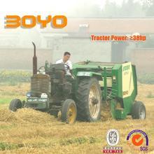 Large rice straw bale machine