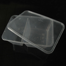 Take away Food Container Box, fast food packaging, Microwaveable and Disposable pp food container
