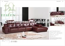 2015 Modern New Wooden Sofa Corner design