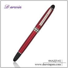 2014 multicolor OEM customized logo gift metal pens