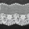 Hot sale popular design white Nylon eyelash lace trimming for wholesale