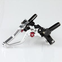 """new universal 7/8"""" motorcycle clutch reservoir levers"""