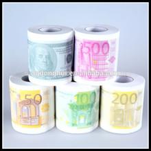 Money Bank Printed Toilet Paper