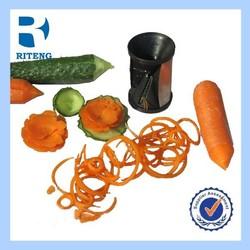 wholesales high quality Eco-friendly spiral vegetable slicer,mini plastic vegetable slicer