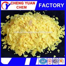 sodium sulphide price 60% red yellow sulphur price