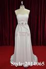 New!!Unique Designer Top Fashion Wedding Dress Chiffon Dress Model 2014