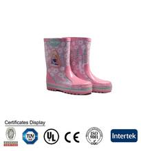 Produttori all'ingrosso signore tacchi di alta moda donne di gomma boot pioggia