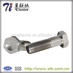 DIN931 Titanium Hex Cap Screw