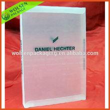 Customized clear pvc shirt packing box