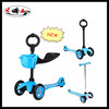 2014 new design 3 in 1 mini micro kick scooter with seat and 3 wheels for 1-5years old child