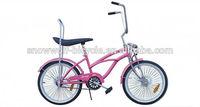 2014 New style steel Lowrider Bike 20 inch Specializes Beach Cruiser Bike for sale SW-B-M06