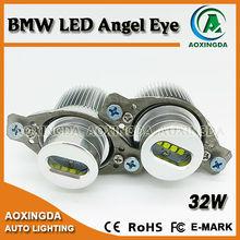 High power angel eyes led bulb e90 non LCI halogen 32w cree led marker angel eyes for bmw e90 e91