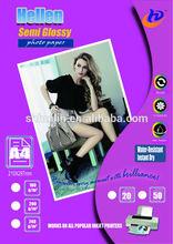 high quality bulk photo paper semi glossy photo paper