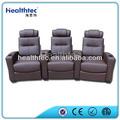 Elegante cinema mobiliário sofá de bambu cadeira reclinável