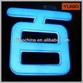 azul de acrílico personalizado letras del alfabeto para decorar
