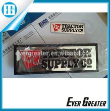 customized 3M tape chrome car badge Adhesive used cars in dubai brushed ABS emblem
