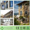 personalizado de alumínio toldo da janela de madeira alumínio frame janela toldo da janela de casa design