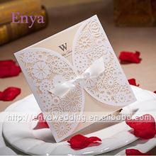 EYIC04 Elegant Butterfly Style Wedding Invitations