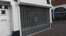 Quick Installation Kitchen Cabinet Eletrically Operated Rolling Shutters