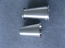 Stainless steel sanitary welding pipe con reducers ecc reducers