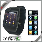 Watch phone user manual! 2014 hot selling smart watch phone with touch screen