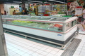 Duplo ilha congelador/alimentos congelados cooler/ice cream frigorífico