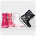 rendas coloridas botas de neve para crianças