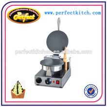 Stainless Steel Single Plate Ice Cream Cone Baker/Corn Maker
