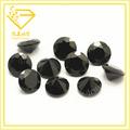 Zirconia cúbico/cz/cz piedra suelta sintético negro diamante de corte redondo de piedras preciosas nombres