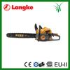 industrial wood saws gas 52cc 2.2kw 2 stroke chain saw