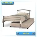 popular y modelos suave cama de metal de ventas