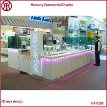 Hot Sell Baking Paint Ice Cream Kiosk Bubble Tea Kiosk Frozen Yogurt Kiosk