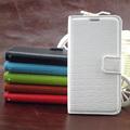 la apertura de lado tirón de la pu billetera de cuero funda para el samsung galaxy s3 baratos teléfono móvil accesorios