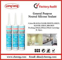 Professional Manufacturer 300ml Neutral 728 general purpose Silicone Sealant