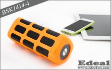2014 power bank waterproof mini bluetooth speaker with subwoofer