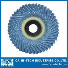 Plastic Backing Zirconia Abrasive Flexible Flap Disc