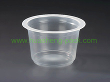 8oz9oz hot sale FDA disposable plastic tea and saucer cup iso9001