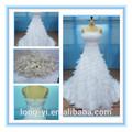 Novo estilo de alta- de baixo do vestido de casamento para o estilo wd018