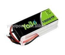 22.2V 60C 6S 10000mah Lipo battery for Dji S800 & full-size multirotors