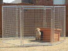 dog fence panel/pet cage dog kennels/1.5x1.5x1.2m dog kennels