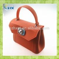 Silicone hand bag/ silicone tote bag/ rubber bag