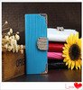 Hot sell diamond lizards genuine real leather mobile phone case cover for iphone 5 5S