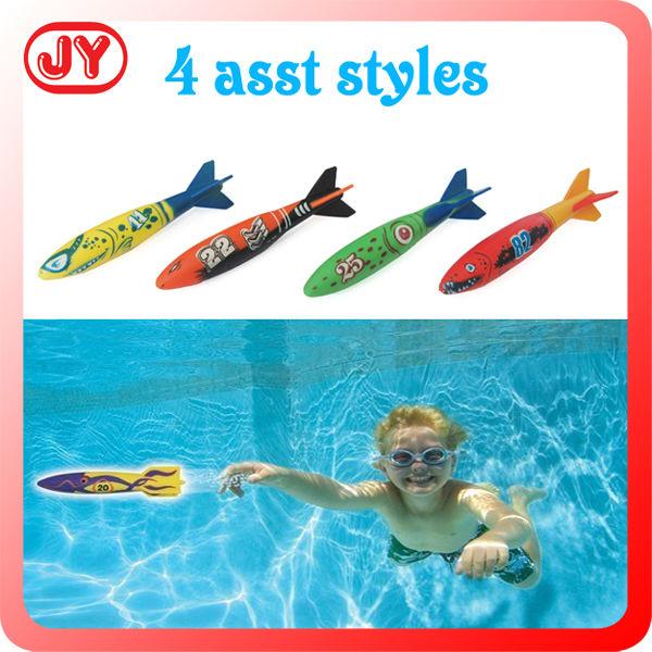 Lustig tauchen spielzeug hai unterwasser torpedo