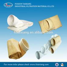 Alta calidad no tejidas perforado aguja del filtro colector de polvo bolsa para poder planta