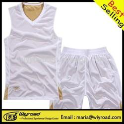 Accept sample order basketball uniform fabrics mide in china/sublimation basketball uniform/basketball uniform logo designs