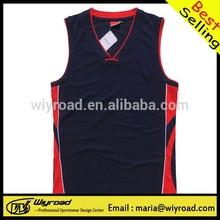Accept sample order cheap basketball tops/custom basketball tops/usa basketball tops