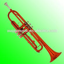 XTR007 Cheap Toy Red/Black/Blue Color Trumpet