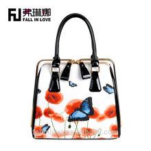 Metal Clip woman fashion tote handbag woman hand bag 2014 designer