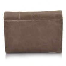leather old fashion wallets 2012 with zipper purse