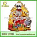 2014 nueva 3d papel de artículos de halloween, estatuilla de halloween artículos de fiesta, caliente la venta de artículos de fiesta de halloween tema